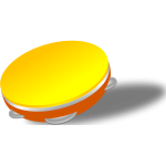 Vector illustration of hand drum