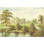 Ripley Castle vector clip art