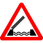 Roadsign Drawbridge