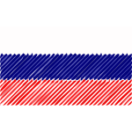 Russia flag linear 2016083159