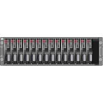 SAN server disk arrays SCSI vector image
