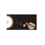 Solar system with planets