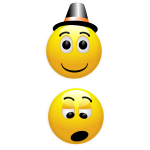 Pair of smileys