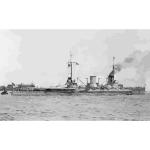 SMS Moltke Hampton Roads 1912