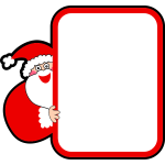 Kris Kringle frame