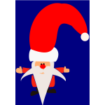 Saint Nick vector drawing