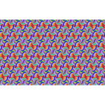 Seamless Groovy Triangular Pattern Variation 2