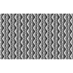 Seamless Hexagonal Diamonds Grayscale Pattern 2