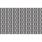 Seamless Hexagonal Diamonds Grayscale Pattern