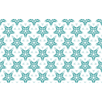 Seamless blue-star pattern