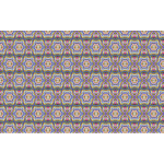 Seamless Psychedelic Geometric Pattern