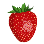 Shiny strawberry