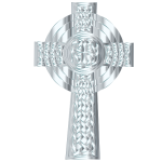 Silver Celtic Cross 3