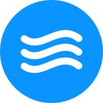 Simple water icon