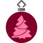 Simple tree ornament