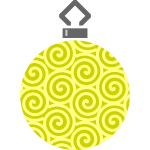 Simple tree bauble