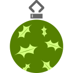 Simple tree bauble image