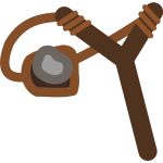 Slingshot With Stone