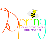 Spring happy season vector illustration