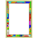 Stained Glass Border 02  Arvin61r58