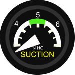 Gyro Suction Gauge vector