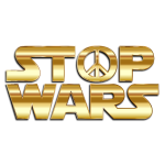 Stop Wars Gold With Drop Shadow