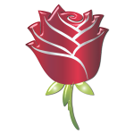 Stylized Rose Enhanced 2