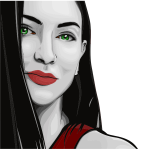 Stylized Woman Portrait