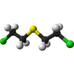 Chemical warfare agent molecule