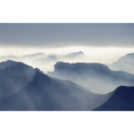 Surreal Foggy Valley