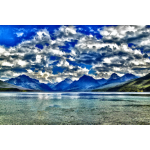 Surreal Lake McDonald Montana