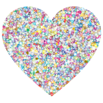 Sweet Tiled Heart