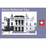 Swiss National Day icon
