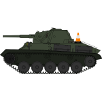 Military vehicle T-70