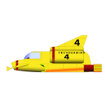 Thunderbird 4 military aircraft