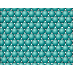Teal circles pattern