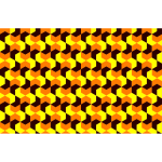 Yellow pattern abstract design