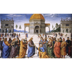 The Delivery of the Keys by Perugino Perugino 1481 82