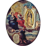 The Eternal Father  Virgin of Guadalupe
