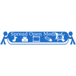 Spreading Open Media 340x60 With text