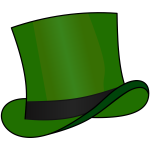Top hat Green