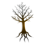 Tree trunk vector illustration