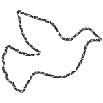 Trendy Peace Dove