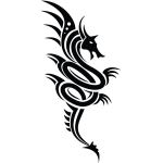 Dragon symbol image