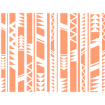 Tribal pattern vector clip art