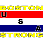 USA BOSTON STRONG