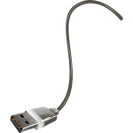 Vector illustration of end of USB cable