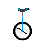 Unicycle drawing