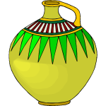 Colored vase image