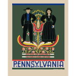 Pennsylvania travel poster
